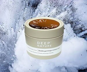 deep nature double gommage mineral prod