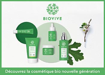 Biovive, la cosmétique bio nouvelle génération