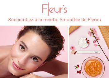 Fleur's, succombez à la recette Smoothie de Fleurs