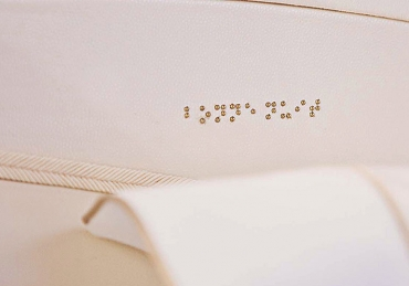 RKF Luxury Linen développe le linge en Braille