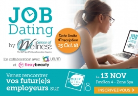 JOB DATING Spa & Wellness - CANDIDATS à vos CV !
