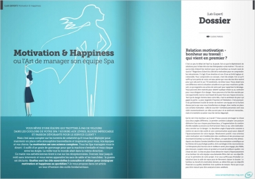 Motivation & Happiness ou l'Art de manager son équipe Spa
