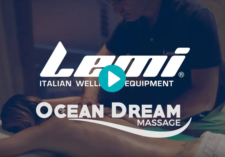 OCEAN DREAM MASSAGE by JEAN GUY DE GABRIAC on Spa Dream massage table - Lemi Group