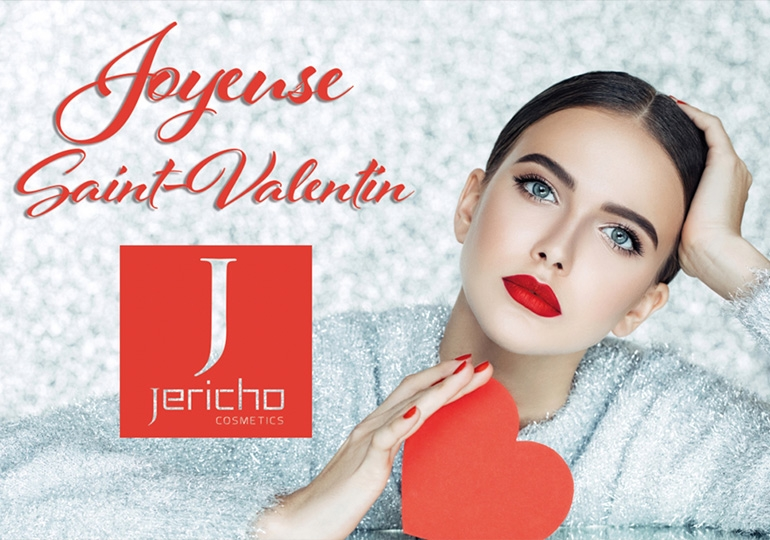 JERICHO Cosmetics  soins corps spécial St Valentin